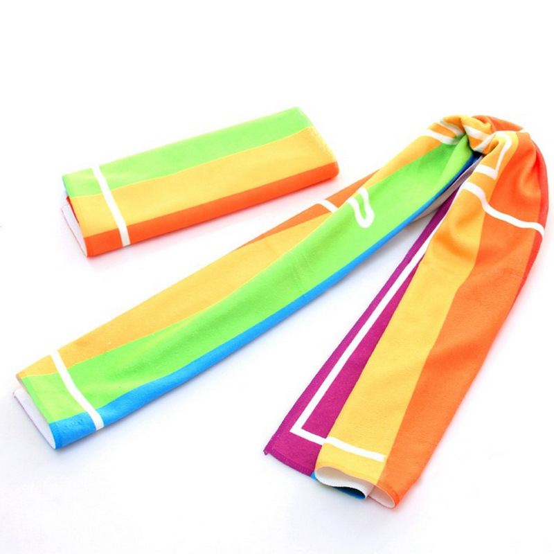 Promotional Printed Sport Microfiber Towel, Gym Towels With Logo