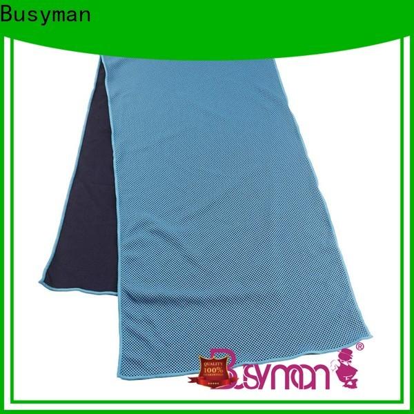 Busyman cooling towel running