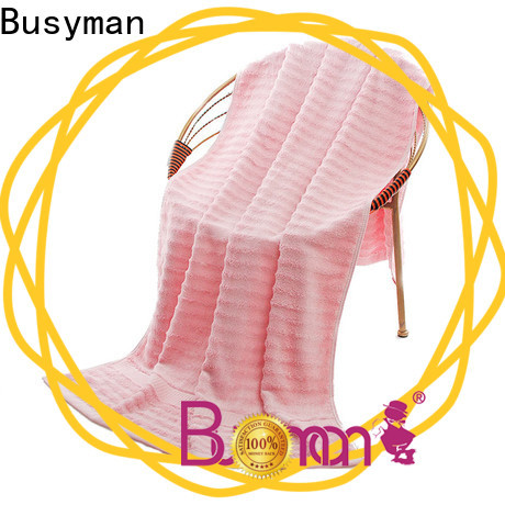 Busyman very soft and fluffy cotton beach towel ideal for gift