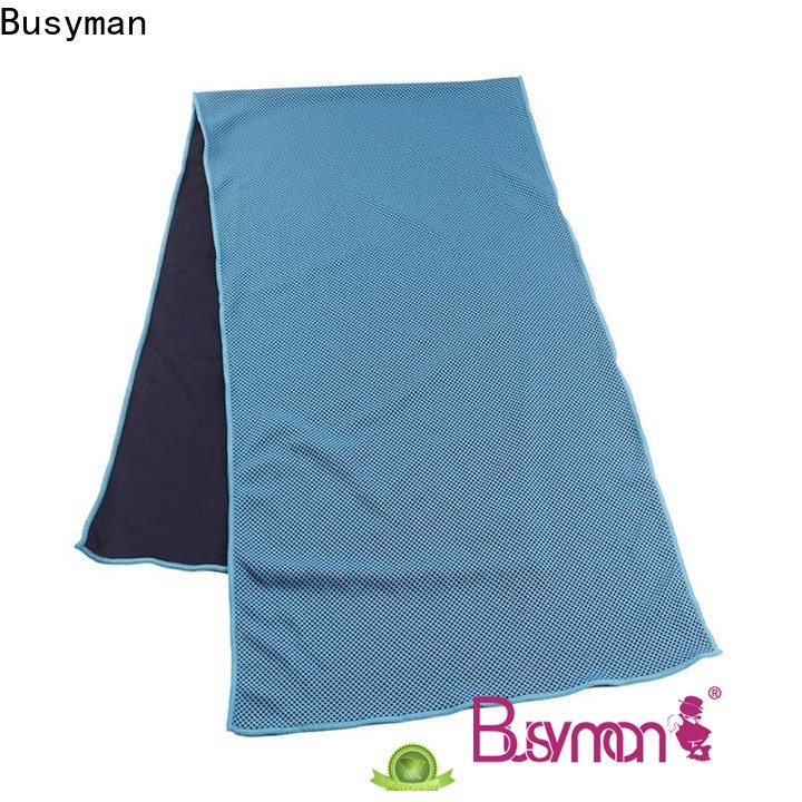 Busyman custom cooling towel widely used for exercise