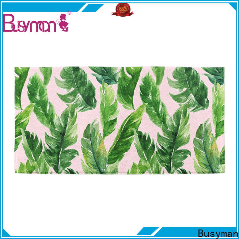 Busyman cotton beach towel best choice for traveling