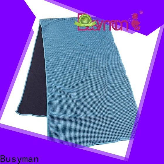 Busyman quick cooling best cooling towel optimal for yoga