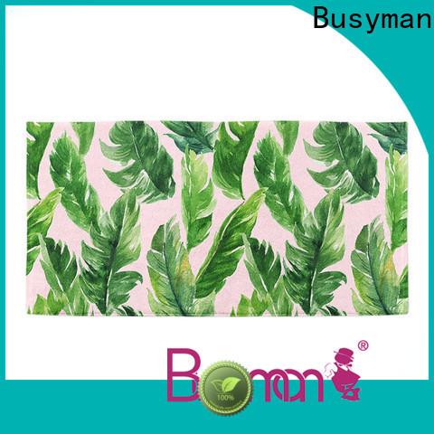 Busyman beach towel custom suitable for gym