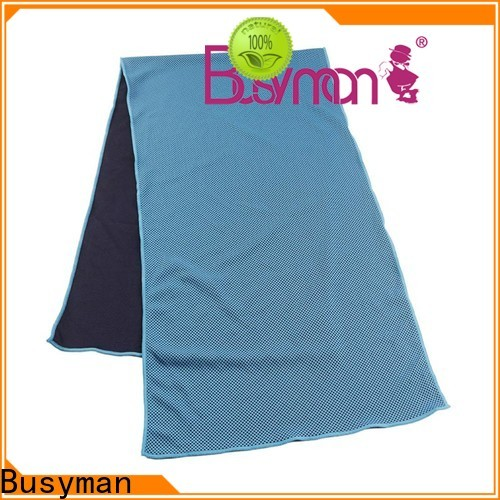 Busyman quick cooling cold towel widely used for yoga