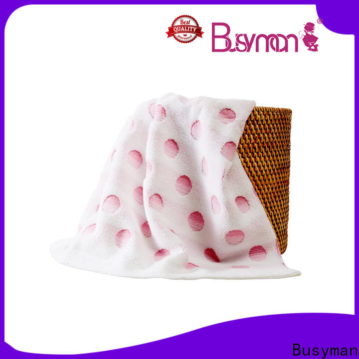 soft hand feeling jacquard towels design ideal for hotel