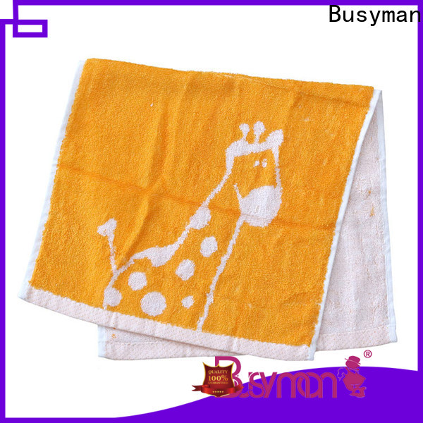 Busyman cotton hand towel widely employed for beauty salon