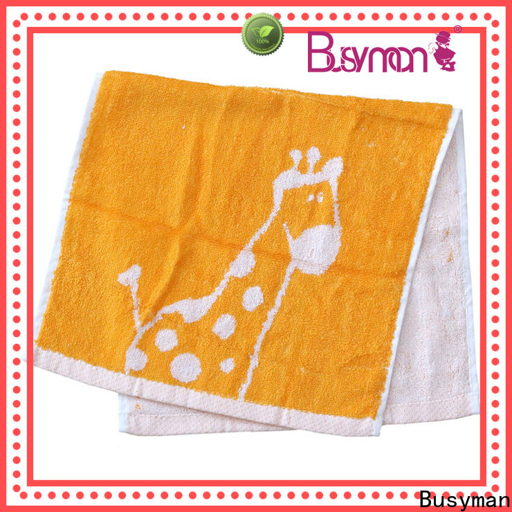 Busyman cotton hand towel best for hotel use
