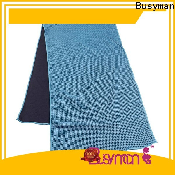 Busyman custom cooling towel widely applied for swimming