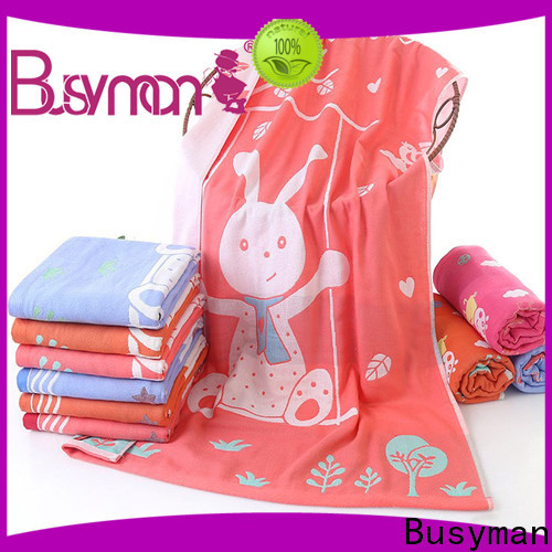 Busyman personalized towels great for gift