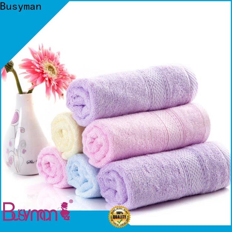 Busyman soft custom beach towels kids