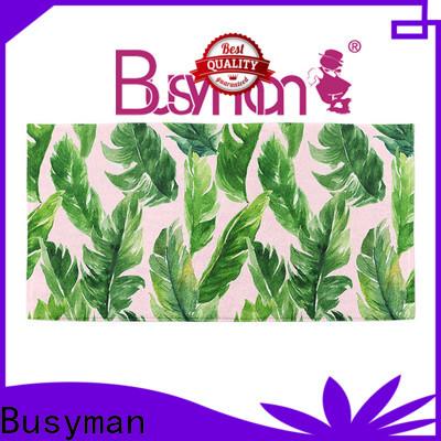 Busyman microfiber beach towel wholesale swimming