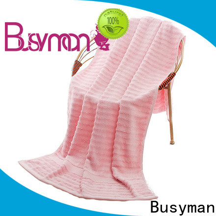 Busyman skin-friendly cotton beach towel optimal for hotel
