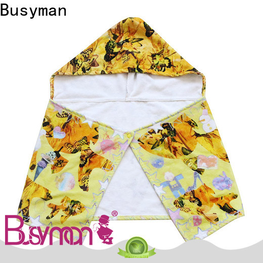 good water absorption cotton hooded towel kids