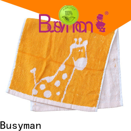 Busyman strong water absorbing capacity wholesale towels beauty salon