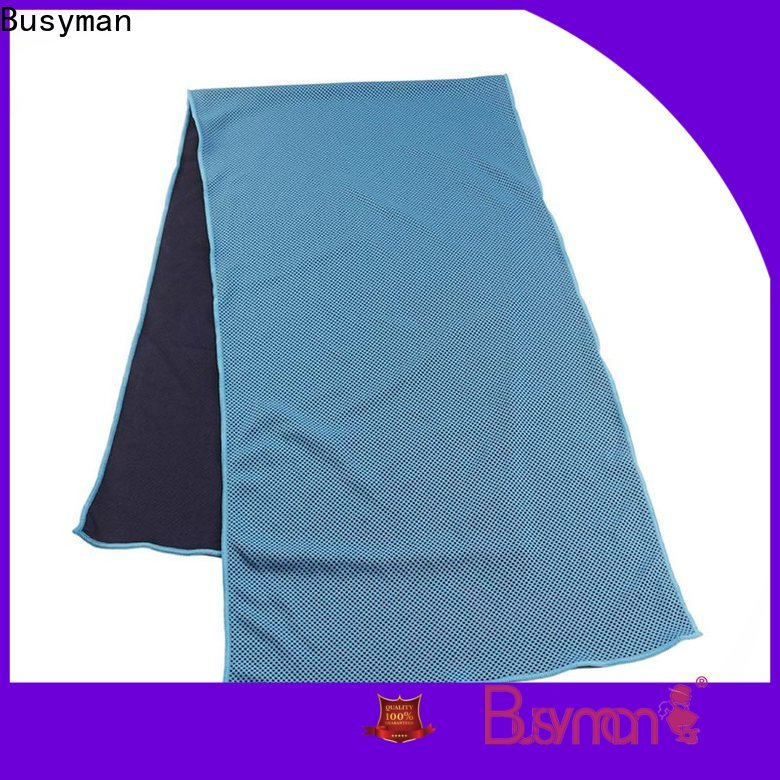 Busyman good quality perfect cooling towel optimal for running
