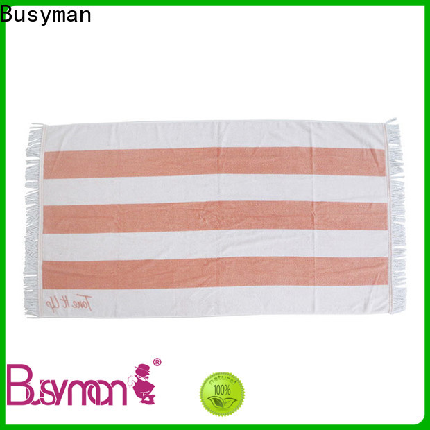 Busyman good design custom printed beach towels needed for swimming