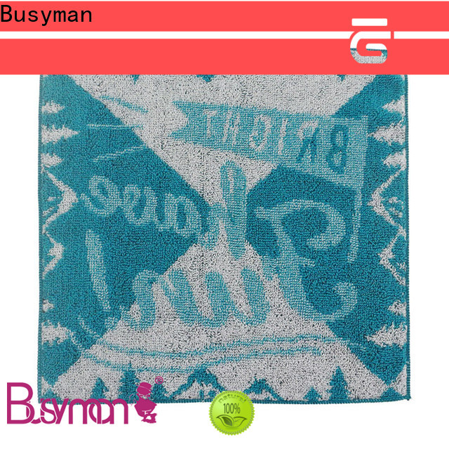Busyman jacquard towels widely employed for kitchen