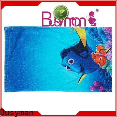 Busyman printed hand towel nice user experience for sports