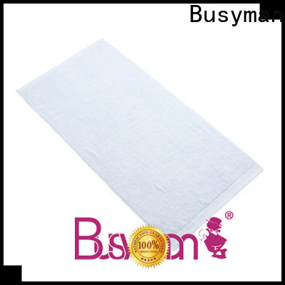 Busyman 100% bamboo bath towels great for hotel