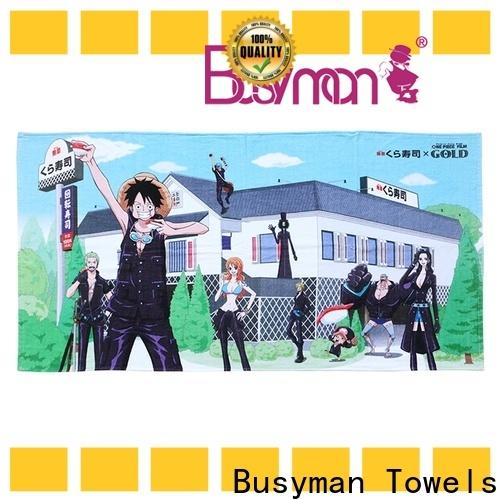 Busyman Towels Bulk buy cotton beach towel factory for sport