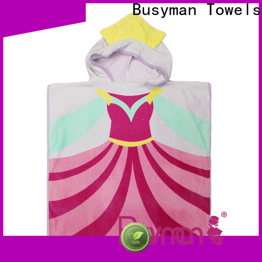 Busyman Towels Custom made hooded bath towels for adults factory price for kitchen