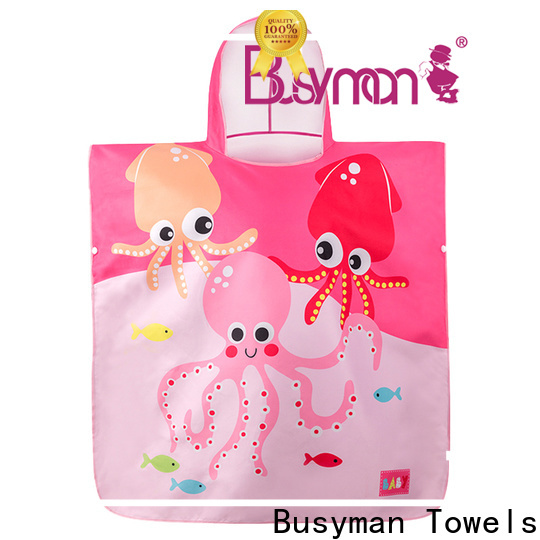 Busyman Towels Latest baby towel set company for baby bathing