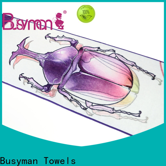 Busyman Towels luxury jacquard towels manufacturers for sports