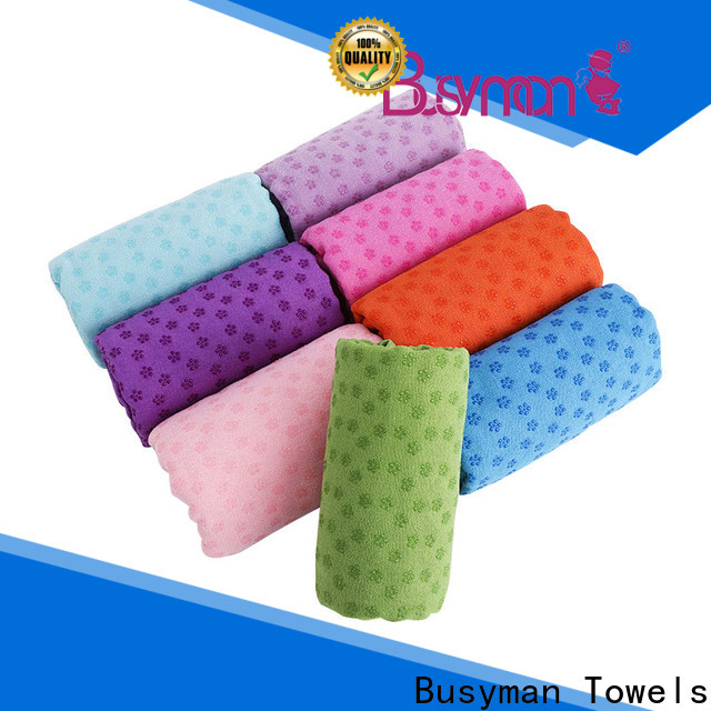 Busyman Towels hot yoga towel manufacturers for sports