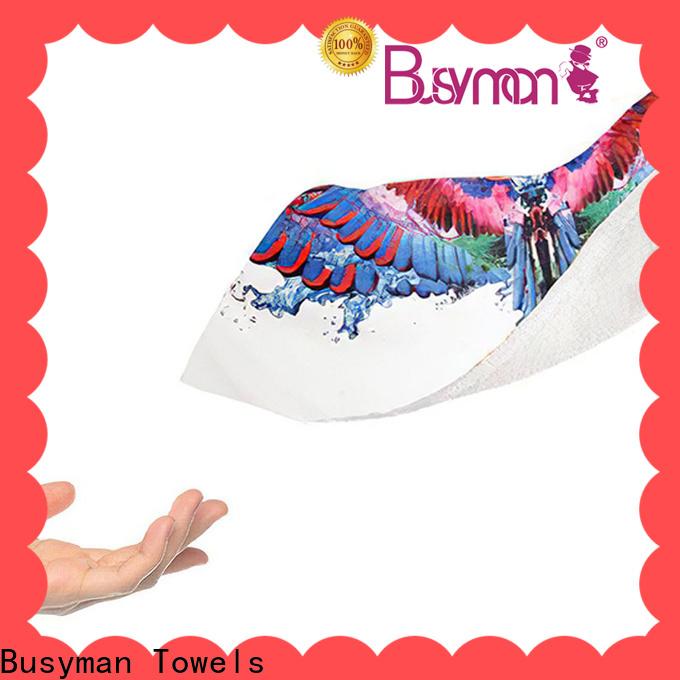 Busyman Towels Buy custom printed bath towels suppliers for hotel