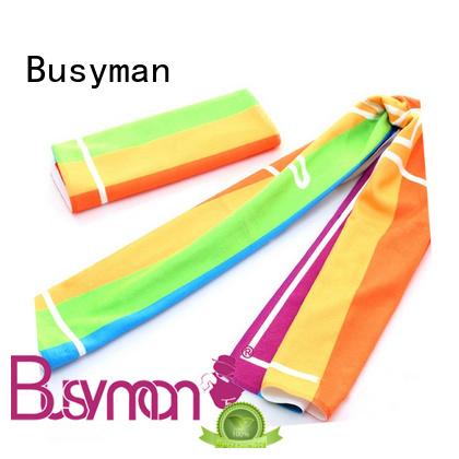 Busyman economical custom sport towel