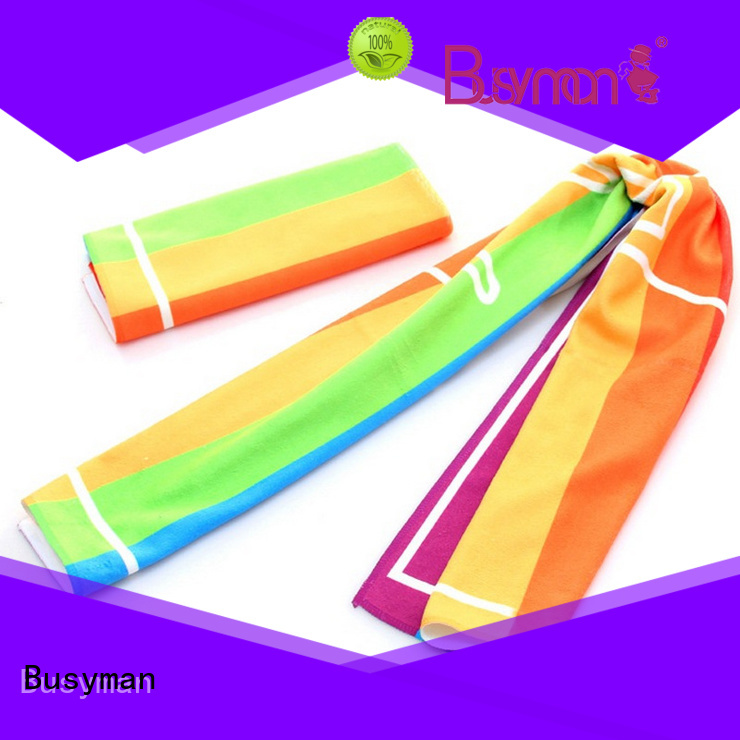 economical microfiber sport towel ideal for sports