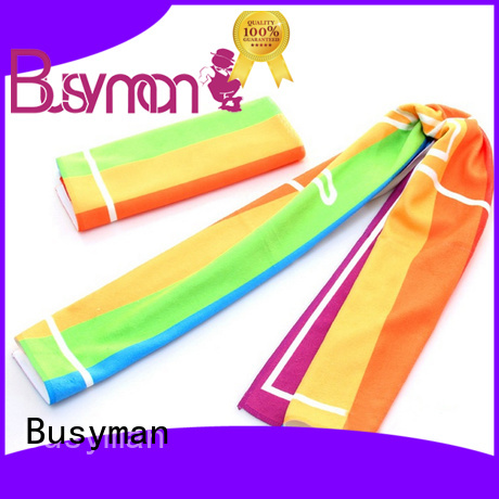 Busyman economical microfibre sports towel sports