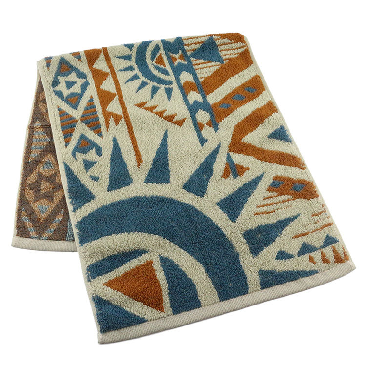 Factory Price Cotton Jacquard Hand Towels for Kids or Adults with Logo