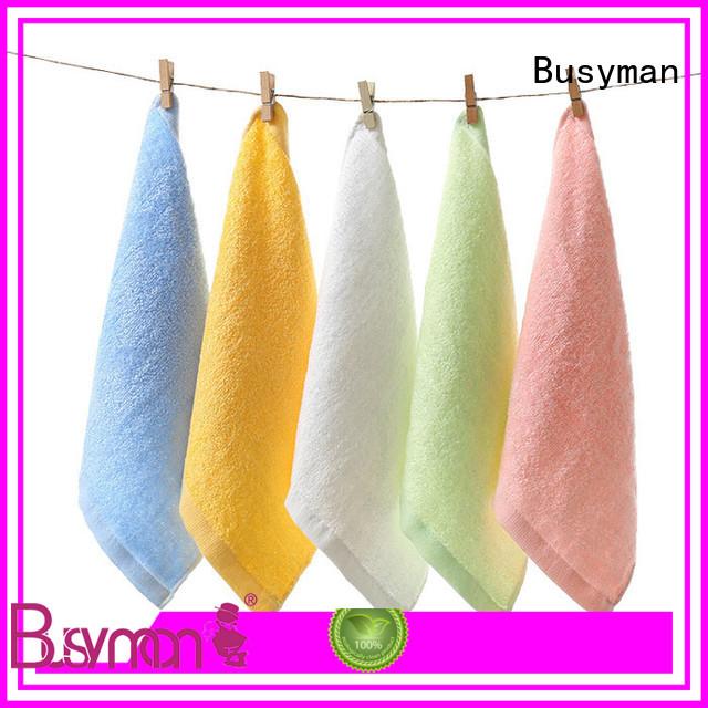 Busyman personalized hand towels nice user experience for home