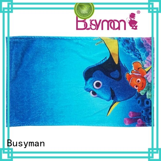 Busyman distinctive custom hand towel ideal for kitchen