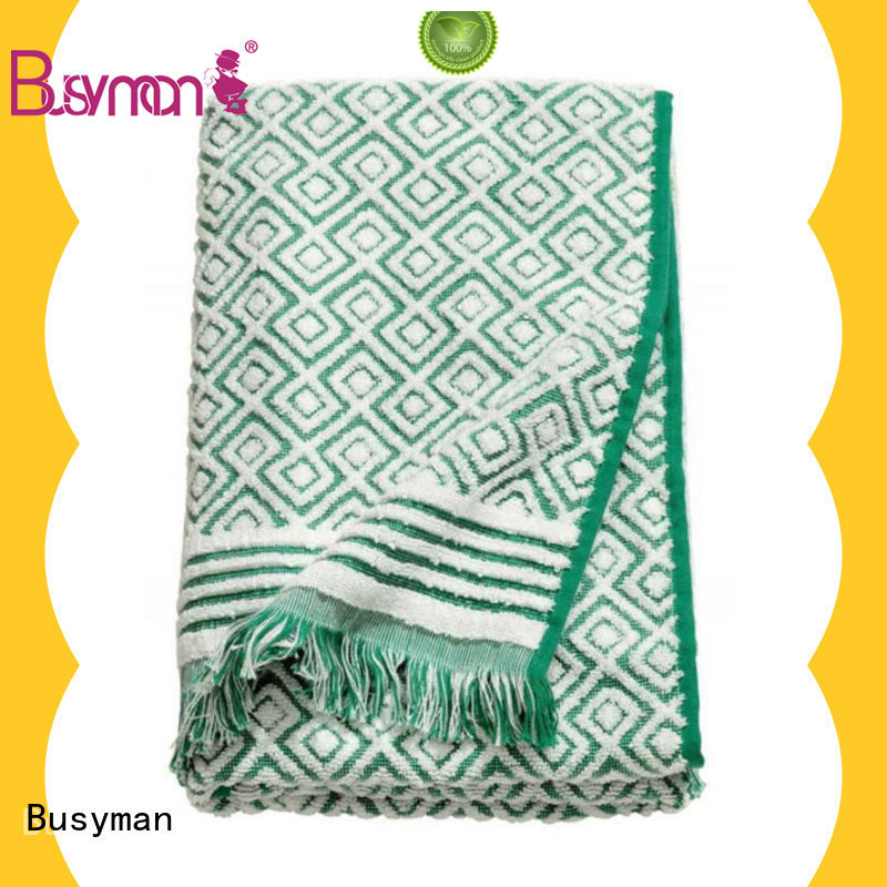 Busyman jacquard beach towel kitchen