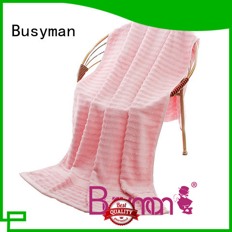 Busyman cotton beach towel perfect for swimming
