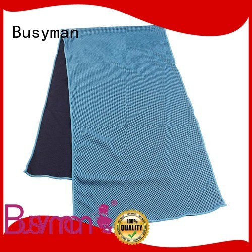Busyman cold towel perfect for swimming