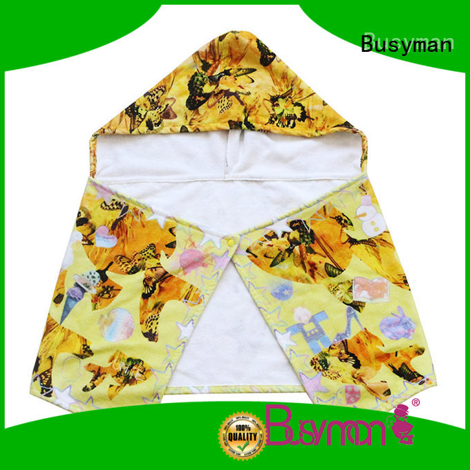 cute cotton hooded towel very useful for home
