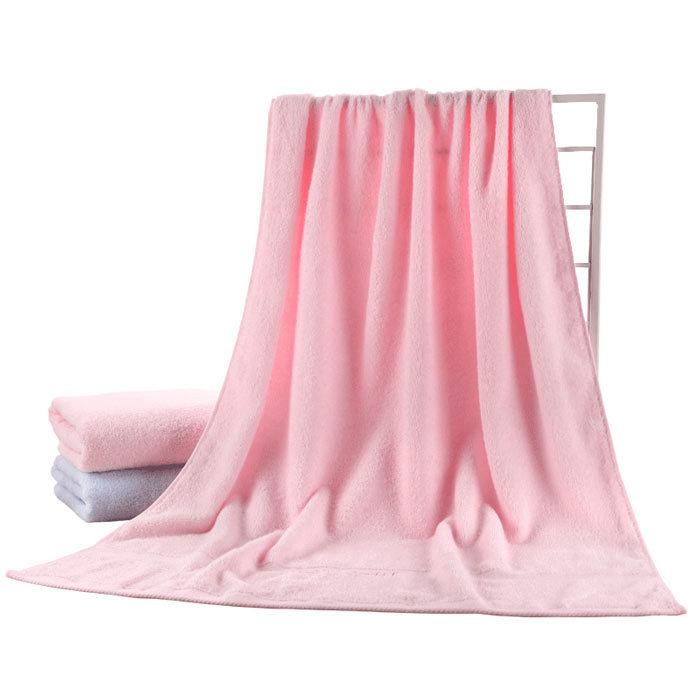 100% Cotton Luxury Plain Color Best Bath Towel For Bathrooms