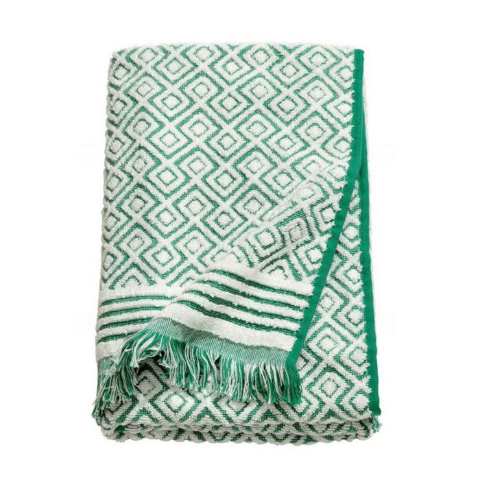 Christmas Bath Towels Jacquard, Large Beach Towels With Tassels