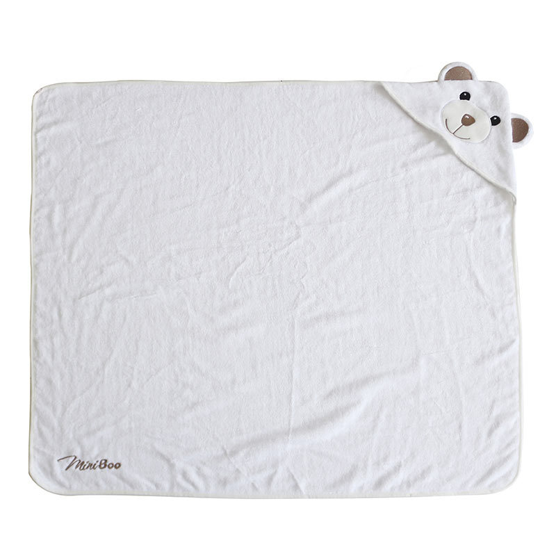 Best Seller Organic Bamboo Baby Hooded Towel Bath Blanket Towel