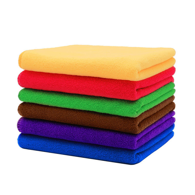 Non-slip Wholesale Microfiber Hand Towel Cleaning Towel for Household Outing and Hotel