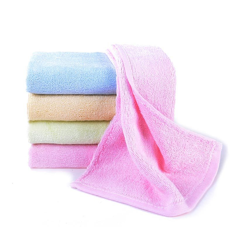 Busyman 21S Plain Dyed Soft Hand Towel Supplier, Pink Hand Towel