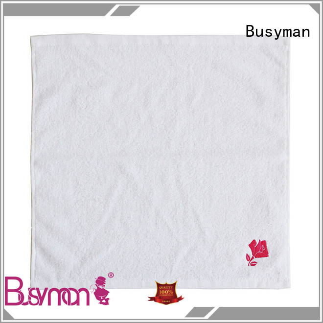 Busyman good design wholesale hand towel needed for kitchen