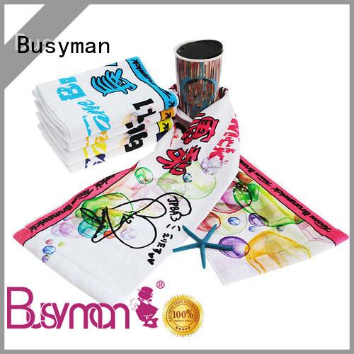 Busyman fitness towel wedding