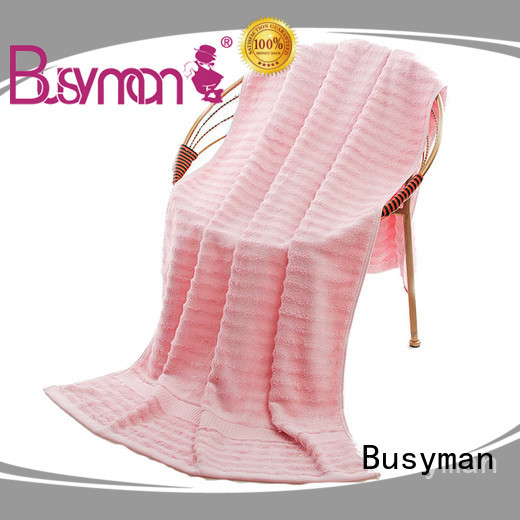Busyman plain beach towel great for gift