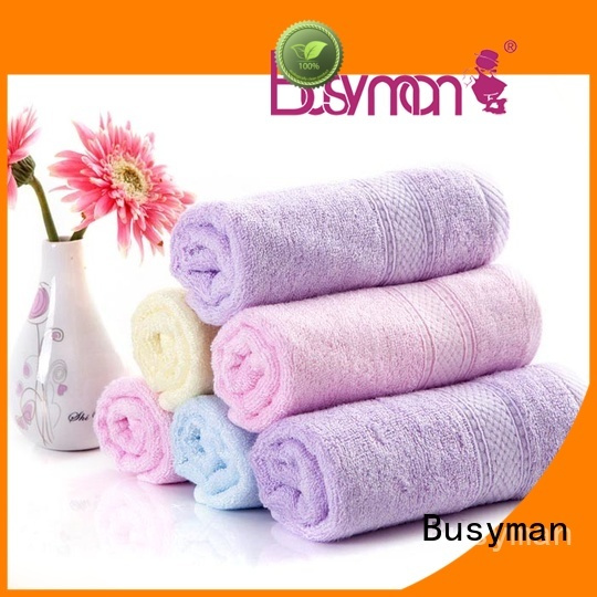 Busyman quality beach towels widely employed for sports