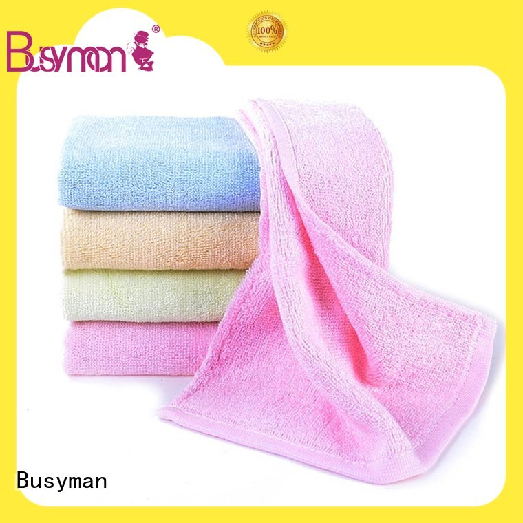 Busyman soft hand towel supplier home