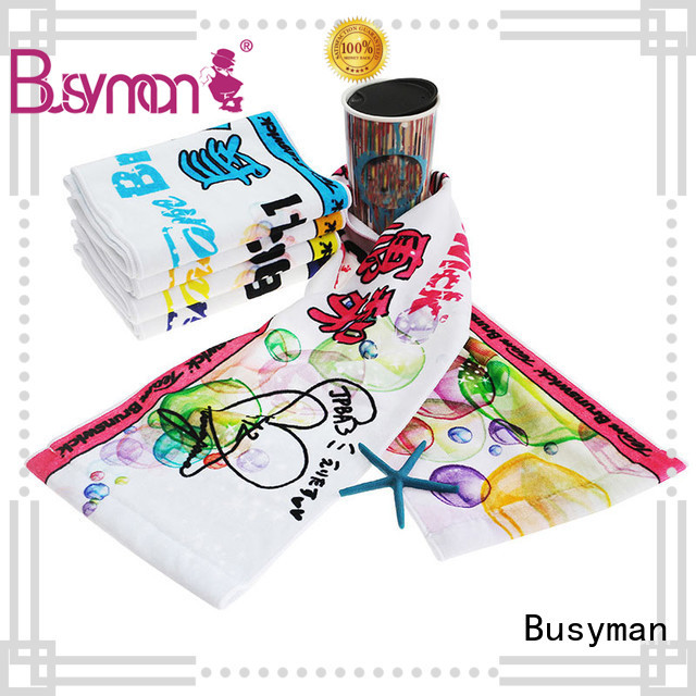 Busyman fitness towel best choice for gym